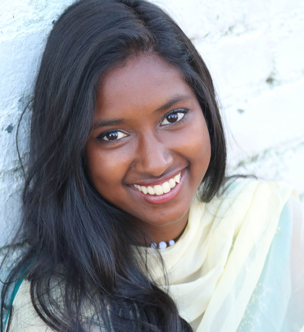 Department of English Student Ambassador, Tharangi Fernando